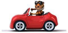 Stock Illustration of Fun tiger