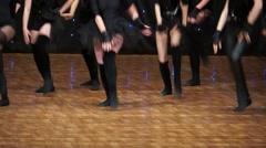 Concert Dancing Stock Footage