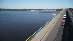 Dnieper River Stock Footage