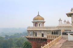 White marble palace, Agra fort, India Stock Photos