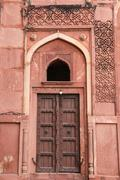 Details of a palace, Agra fort, India Stock Photos