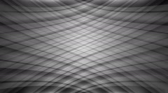 Monochromatic curve pattern Stock Footage