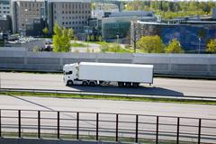 Freight services in Finland - stock photo