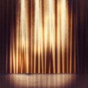 Stage background - stock illustration
