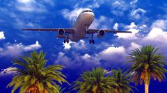 Stock Illustration of Generic plane