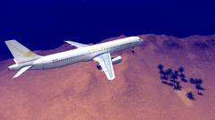 Generic plane - stock illustration