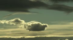Lee Rotor Cloud Time Lapse - stock footage
