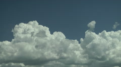 Updraft Stage Cloud Formations Stock Footage