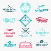 Barbershop - stock illustration