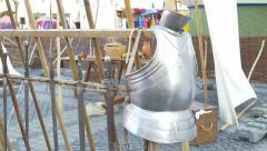 Medieval Armour Stock Footage