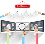 Stock Illustration of Stock Exchange