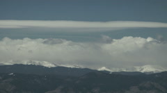 Mountain Snow Clouds Time-lapse Colorado Stock Footage