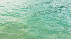 Green Water Waves in a Lake Stock Footage