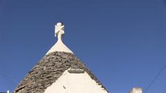 Italy  - Apulia - Alberobello - Trullo Stock Footage