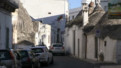 Alberobello - italy - village Stock Footage