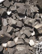 brick foam for insulation - stock photo