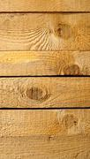 solid wood background - stock photo