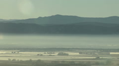 Time Lapse of Denver Brown Cloud Air Pollution Layer Stock Footage