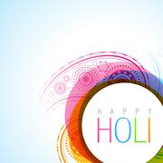 Stock Illustration of holi festival