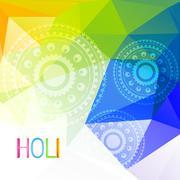 Stock Illustration of indian holi festival