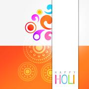 holi festival celebration - stock illustration