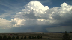 Pileus Caps Storms Stock Footage