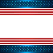 american flag background - stock illustration