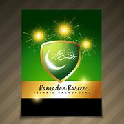 Stock Illustration of beautiful ramadan festival template