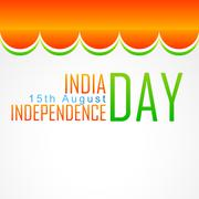 indian flag art - stock illustration