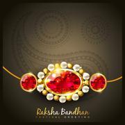 Stock Illustration of raksha bandhan festival