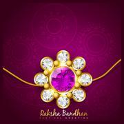indian rakshabandhan background - stock illustration
