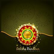 raksha bandhan festival design - stock illustration