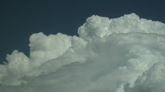 Time Lapse of Rare Pileus Atop Growing Cumulus Cloud Stock Footage