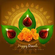 cultural hindu festival - stock illustration