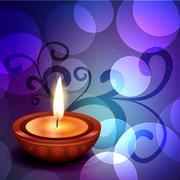 Beautiful diwali background Stock Illustration