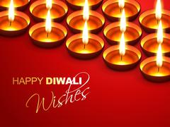 Stock Illustration of diwali wishes
