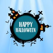 Stock Illustration of creative halloween design