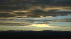 Peaceful Sunset Stock Footage