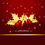christmas holiday - stock illustration