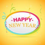 New year celebration Stock Illustration