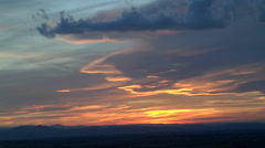 SubTLE Sunset Colors Stock Footage