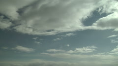 Stratocumulus with Virga - stock footage