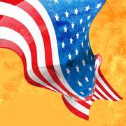American flag design Piirros