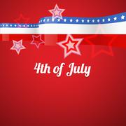 American 4th of july Stock Illustration