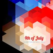 Vector 4th of july Stock Illustration