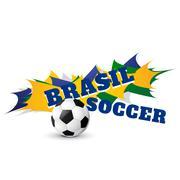 Brazil football game Piirros