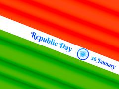 Republic day of india Stock Illustration
