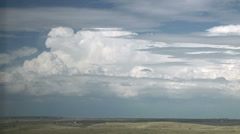 Thunderheads on the Horizon Stock Footage