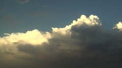 Evening Convection Stock Footage