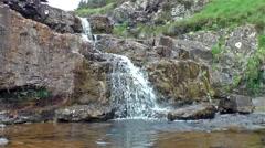 Waterfall - Glenbrittle - Skye Stock Footage